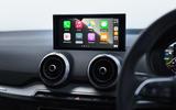 Audi Q2 35 TFSI Sport 2020 UK first drive review - infotainment