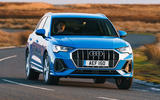 Audi Q3 45 TFSI 2019 first drive review - on the road nose