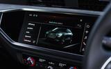 Audi Q3 Sportback 2019 UK first drive review - infotainment