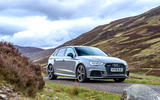 Audi RS3 Sportback 2019 UK first drive review - static front