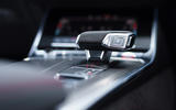 Audi RS6 2020 UK first drive review - gearstick