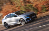 Audi RS Q8 2020 UK first drive review - on the road front