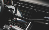 Audi SQ7 2020 first drive review - infotainment