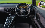 Audi TT Coupe 2019 UK first drive review - dashboard
