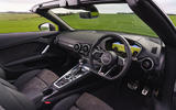Audi TT Roadster 2019 UK first drive review - dashboard