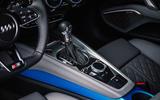 Audi TTS 2018 first drive review gearstick