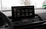 12 Audi SQ5 2021 first drive review infotainment