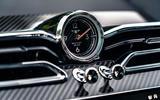 Bentley Bentayga 2020 UK first drive review - clock
