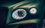 Bentley Bentayga facelift - head lights
