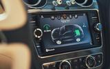 Bentley Bentayga hybrid 2019 first drive review - infotainment