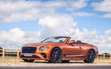 Bentley Continental GT Convertible V8 2020 UK first drive review - static
