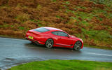 Bentley Continental GT V8 2020 UK first drive review - on the road side