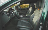 Bentley Flying Spur 2020 UK first drive review - front seats