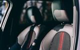 12 BMW 1 Series 128ti 2021 UK first drive review seats