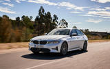 BMW 3 Series 320d Sport Line 2019 first drive review - on the road front