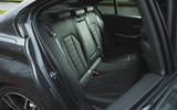 BMW 3 Series 330i 2019 UK review - rear seats
