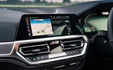 BMW 420i Coupe 2020 UK first drive review - infotainment