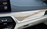 BMW 5 Series 2020 UK (LHD) first drive review - interior trim