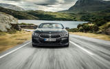 BMW 8 Series Convertible 850i 2019 first drive review - on the road nose