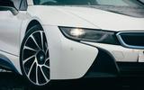 BMW i8 - static front