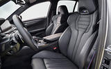 BMW M5 Competition 2018 first drive review seats