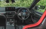 12 BMW M5 CS 2021 UK FD cabin