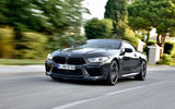 BMW M8 Competition Convertible 2019 first drive review - on the road front