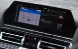 BMW M8 Competition Coupe 2020 UK first drive review - infotainment