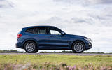 BMW X3 xDrive30e 2020 UK first drive review - static side