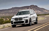 BMW X7 M50i 2020 first drive review - tracking front