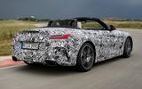 BMW Z4 prototype drive 2018 track rear