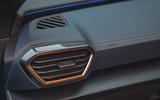 12 Cupra Formentor VZ2 2021 UK first drive interior trim