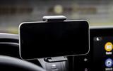 12 Dacia Sandero Stepway 2021 UK first drive review smartphone holder