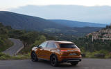 DS 7 Crossback PureTech 225 2018 review static hero rear