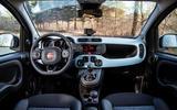 Fiat Panda Cross Hybrid 2020 first drive review - dashboard