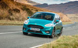 Ford Fiesta EcoBoost mHEV 2020 UK first drive review - on the road front