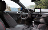 Ford Focus 2018 first drive review dashboard
