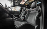 12 Ford Focus ST Edition 2021 UK FD seats