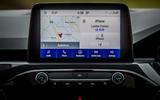 12 Ford Kuga FHEV 2021 UK FD infotainment