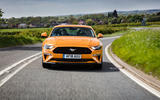 Ford Mustang GT 5.0 2018 UK review on the road front