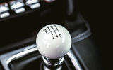 12 Ford Mustang Mach 1 2021 UK first drive review gearstick