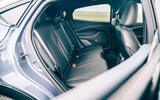 Ford Mustang Mach E 2021 UK first drive review -  rear seats