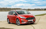 12 Ford S Max Hybrid 2021 UK FD static front