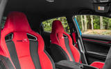 Honda Civic Type R 2020 UK first drive review - front seats