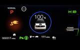 Honda e 2020 UK first drive review - charging indicator