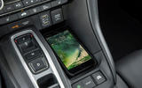 Honda Insight 2019 first drive review - centre console
