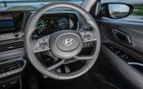 12 Hyundai Bayon 2021 UK FD steering wheel