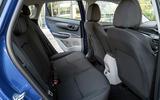 Hyundai i20 2020 UK first drive review - rear seats