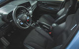 12 Hyundai i20 N 2021 UK first drive review dashboard