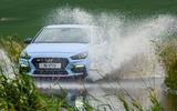 Hyundai i30 N 2020 UK first drive review - splash